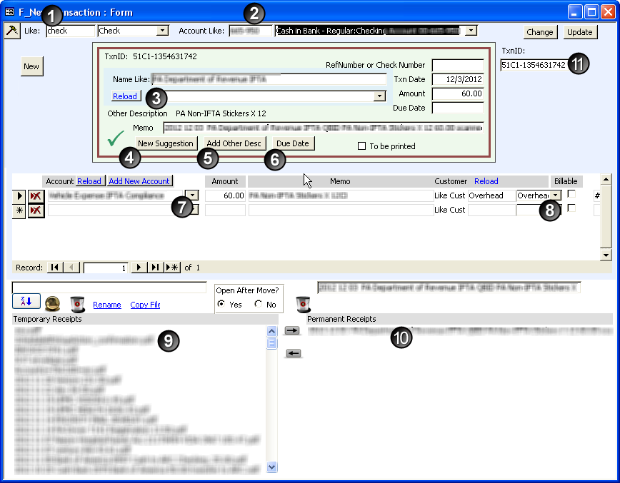 Autozone Return Policy No Receipt Word Scanning Receipts To Quickbooks With Ocr Invoice Terms Net 30 with Design Invoice Example Form To Enterupdate Quickbooks Transactions Order Invoices Online