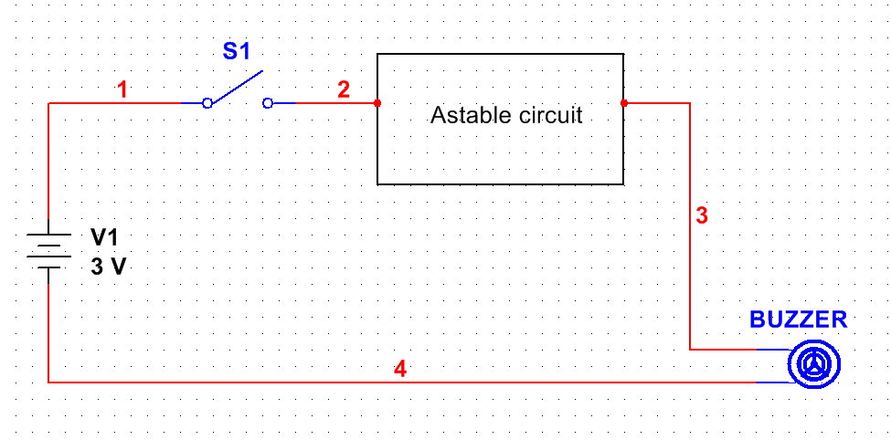 Phenomenal Simple Intermittent Beep Circuit Wiring 101 Mentrastrewellnesstrialsorg