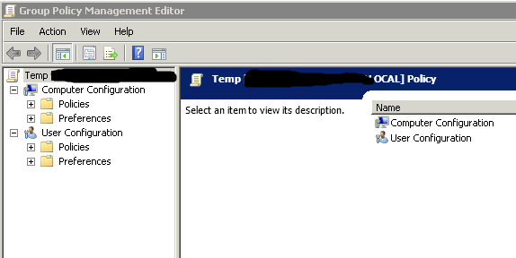 solution missing administrative templates in gpmc