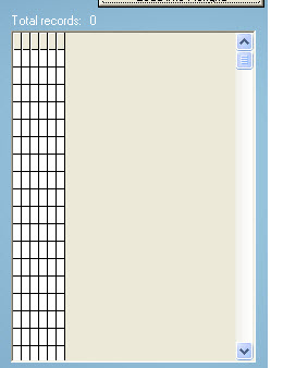 empty cells in grid
