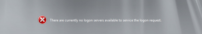 SBS logon error comes up