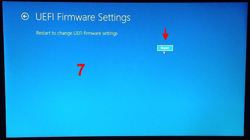 7. UEFI Firmware Settings