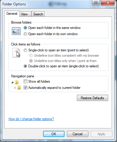 Missing desktop icon