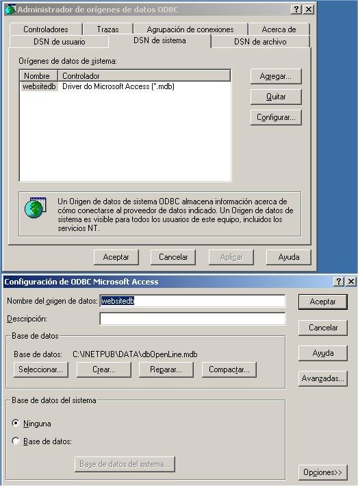 ODBC Windows box