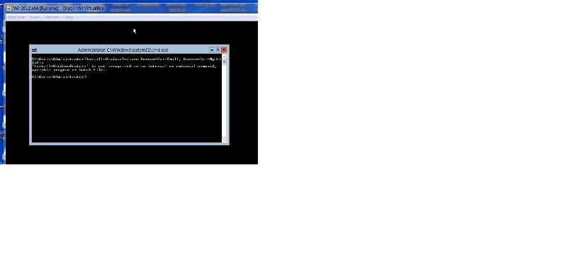 error install