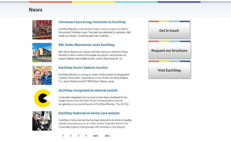Internet explorer news page