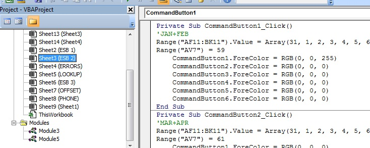 Sheet Code