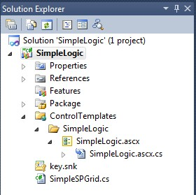 Solution Explorer ScreenGrab