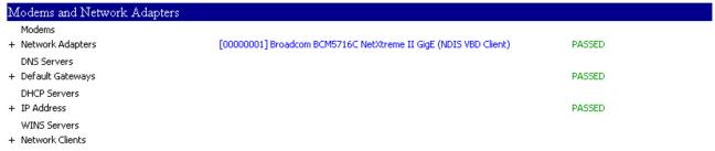 NETSH GUI Passed X 3