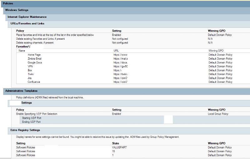 screenshot of gpresult.htm