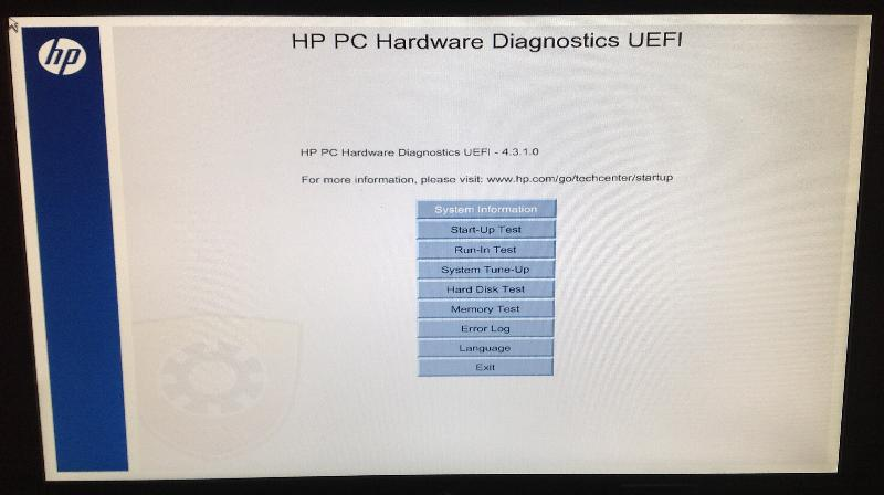 Hardware Diagnostic
