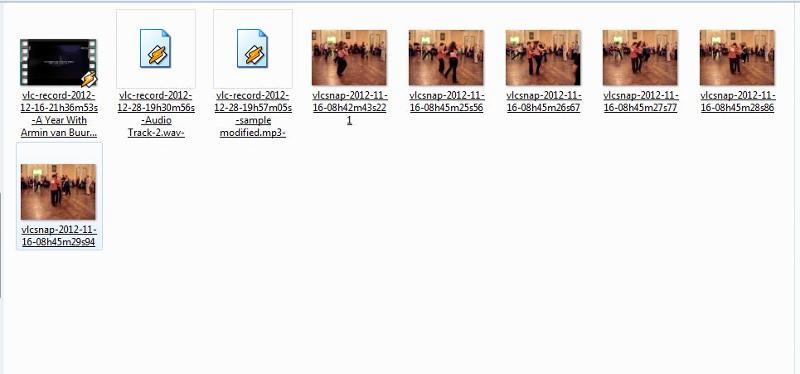 VLC record