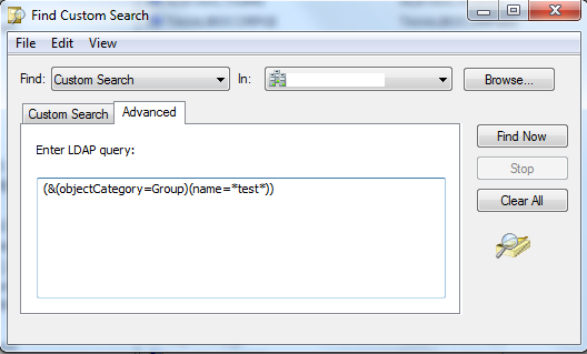 Custom LDAP Search