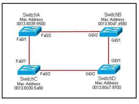 identify the RSTP ports.