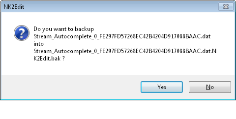 NK2 Backup