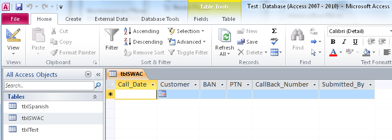 Export Multiple Excel data tables to Access tables