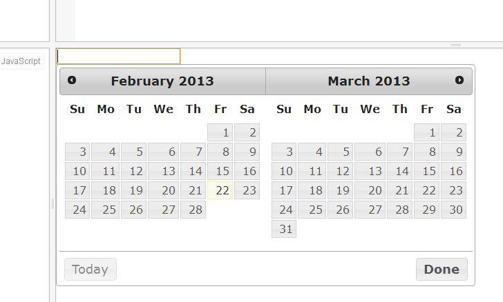 Resize jQuery Datepicker Calendar