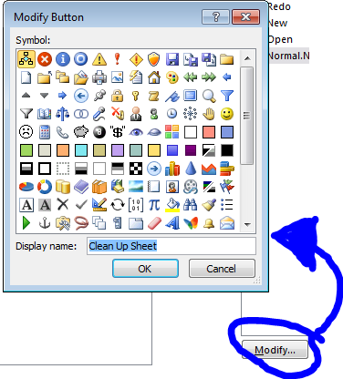 how to create a print button in access