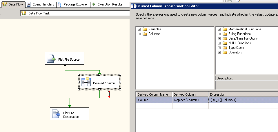 SOLUTION] SSIS, SQL Server 2008 and scientific notation