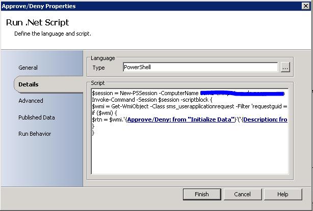 Run.Net Script Activity
