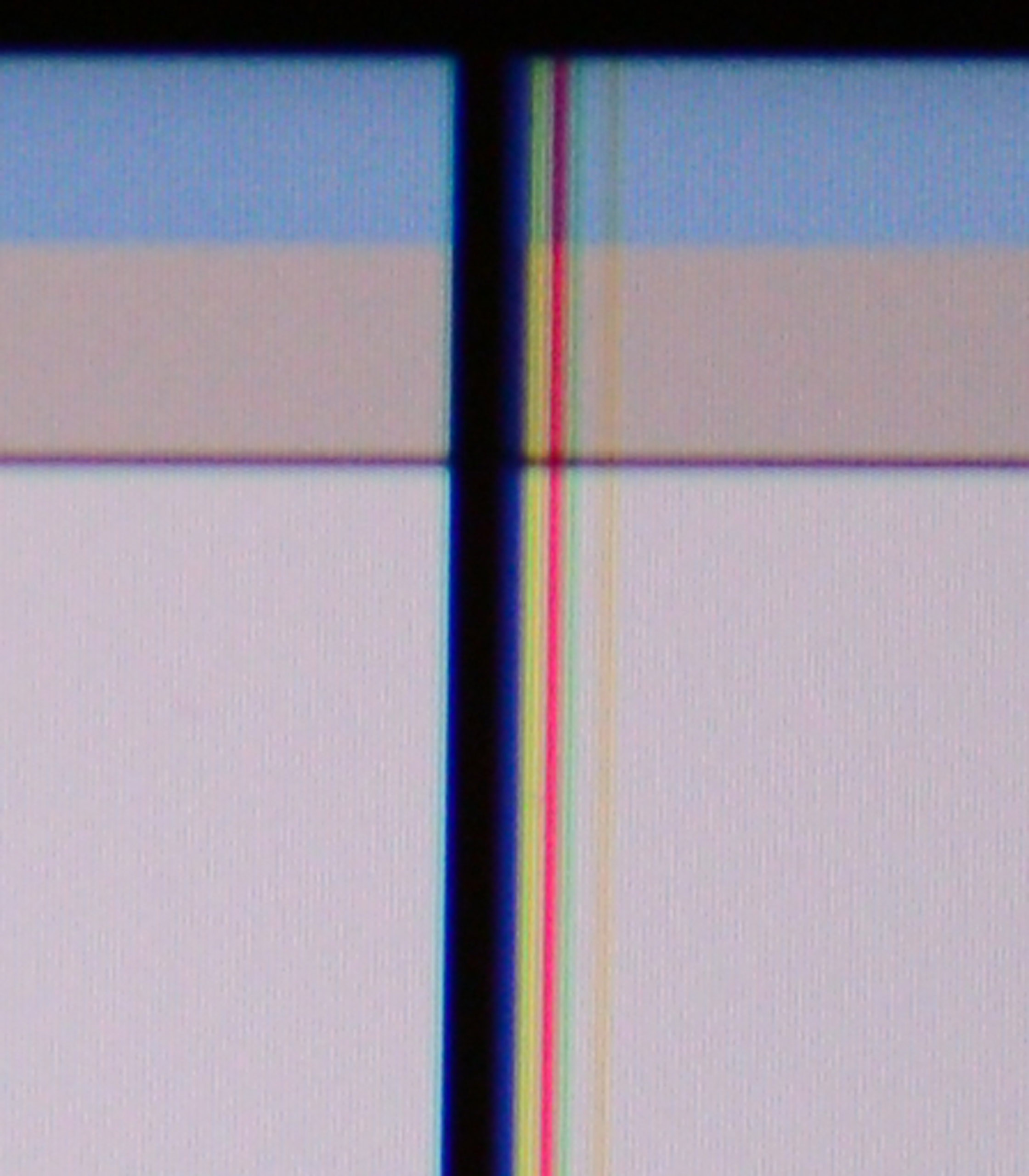 Vertical Lines on Monitor When Monitor is Cool
