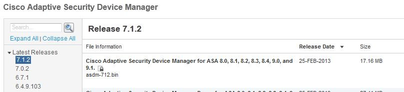ASDM 1 5 (30) hangs after Java upgrade