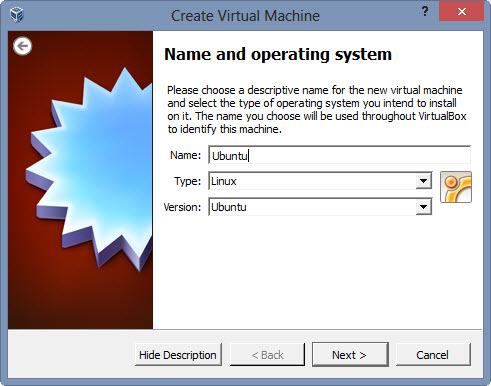 Name and Operating System