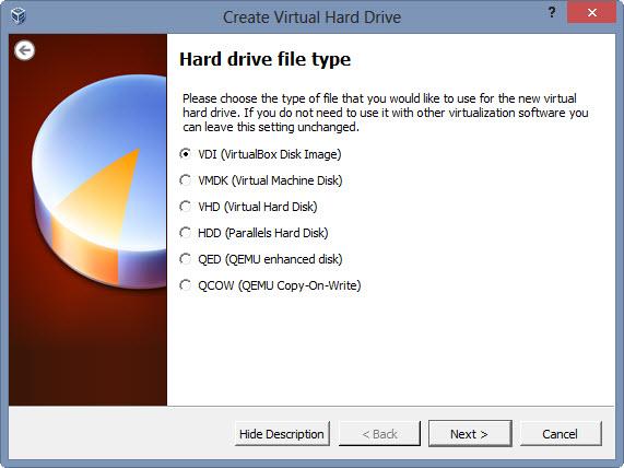 Hard Drive File Type