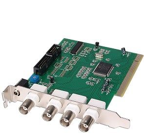 A Four Port CCTV DVR Card