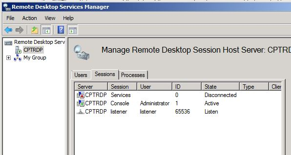 SOLUTION] Windows 2008 R2 Server: RDP Sessions remain open