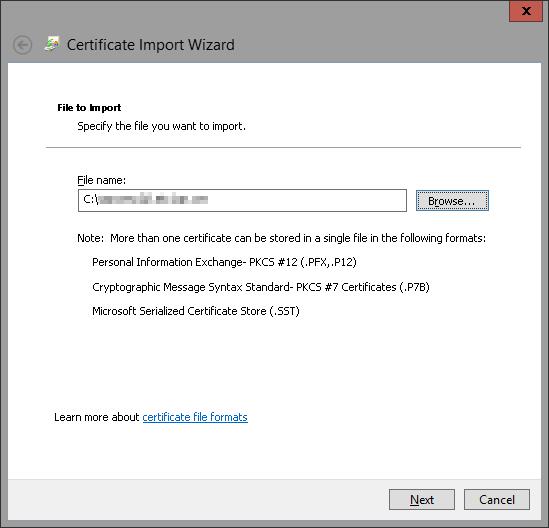 Import Certificate 6