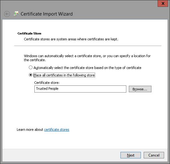 Import Certificate 7