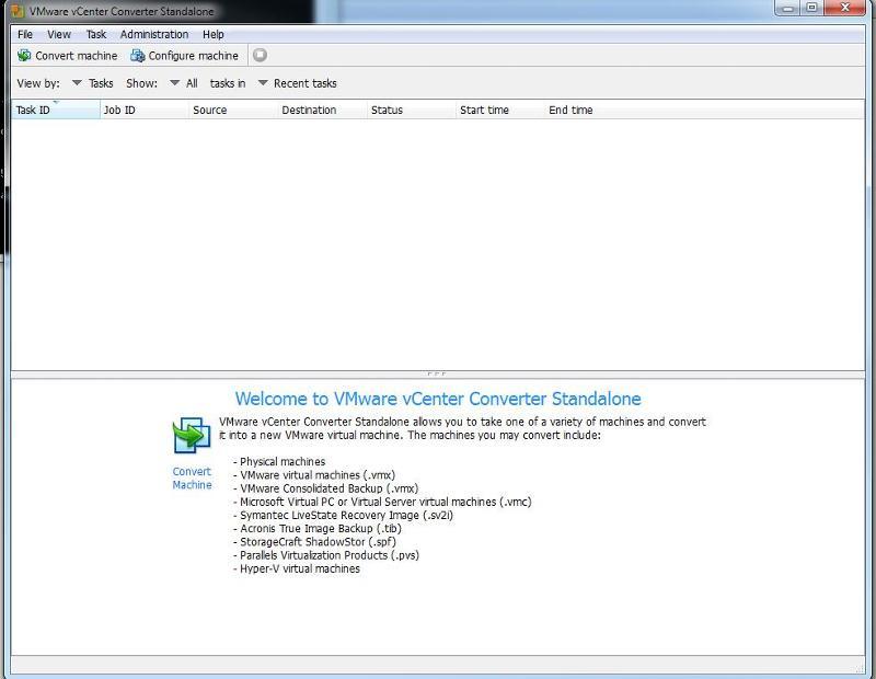 VMware vCenter Converter Standalone v5.1
