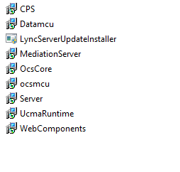 Lync Server and updates Build Numbers
