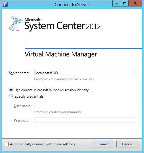 SCVMM Client