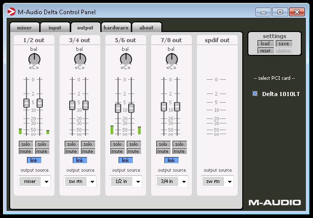 M-Audio 10 10 LT