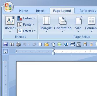 word2007 margins