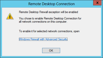 remote desktop firewall