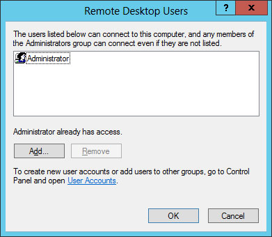 add remote desktop user