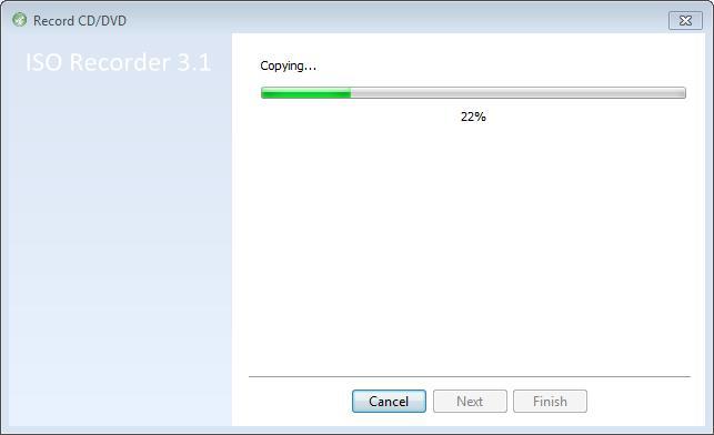 22 percent complete ...