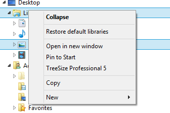 You should have this (2nd item) Restore default libraries