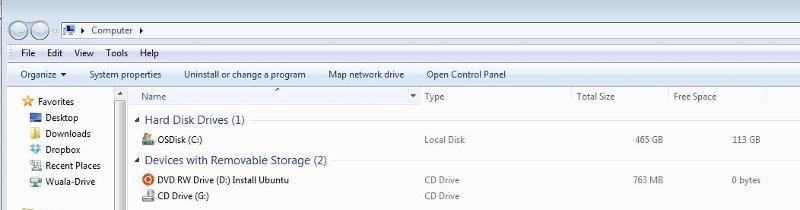 CD-ROM Inserted
