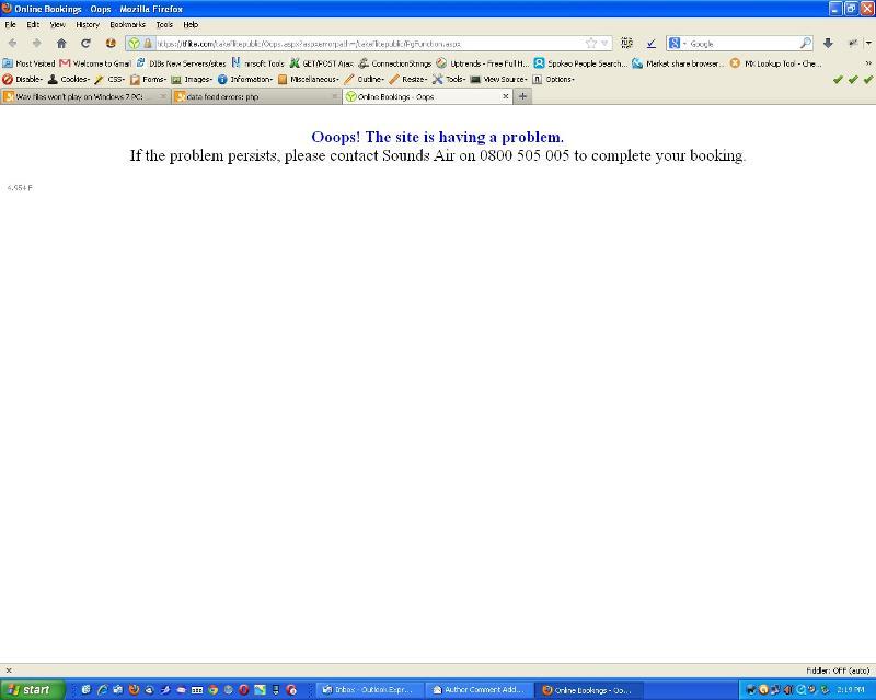 site problem