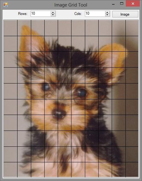 Image Grid Tool