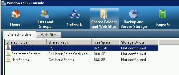shared folders