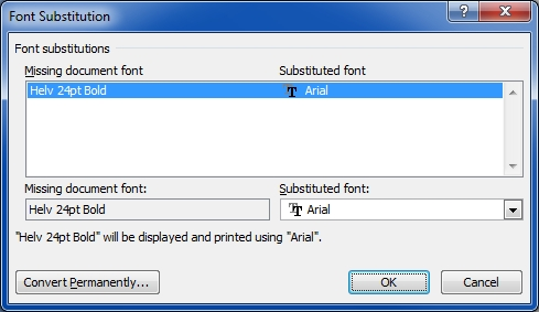 helvetica font - arial substituted