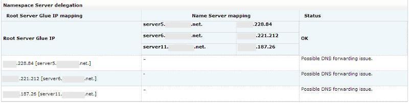 Site 24x7 DNS Report