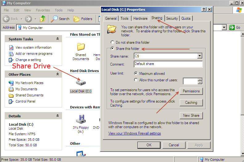 Windows-XP-Drive-Sharing