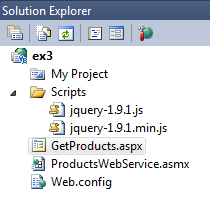 example 2 project directory