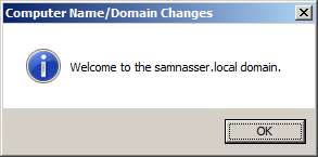 connect to domain
